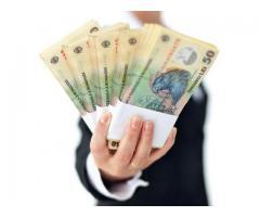 Ofertă de împrumut foarte rapidă cu garanție de 100%
