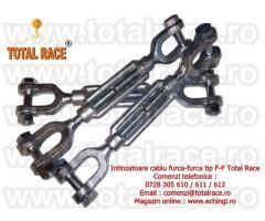 Intinzatoare cablu cu doua furci Total Race