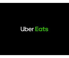 Curier Uber Eats - castiguri garantate cu minim stres