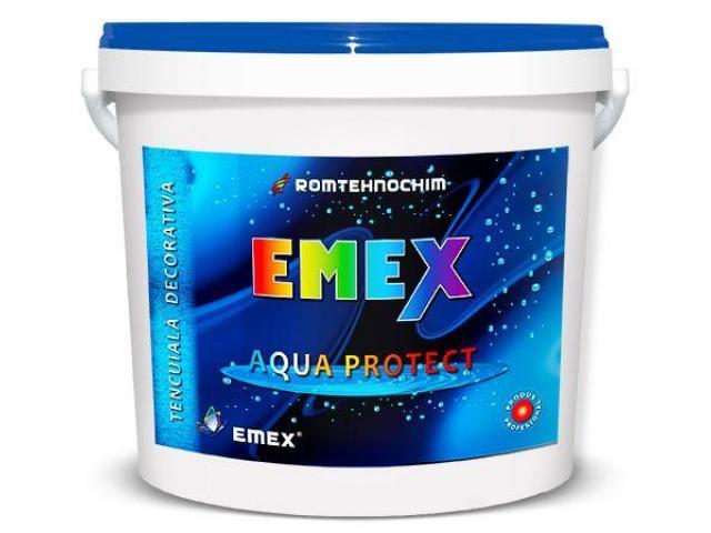 Tencuiala Decorativa Impermeabila EMEX AQUA PROTECT
