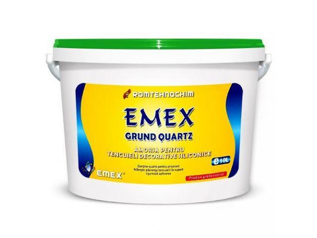 Grund de Amorsare Siliconic cu Cuart pentru Tencuieli EMEX