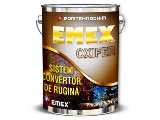 Sistemul Anticoroziv Convertor de Rugina EMEX OXIFER