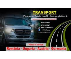 Transport persoane si colete GVR Travel