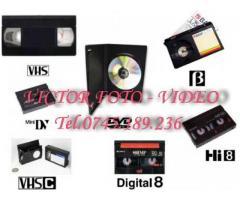 Montaj, copieri casete blu-ray hard conversii NTSC