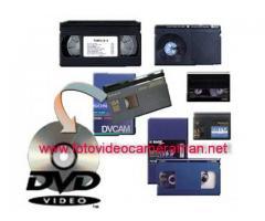 Casete materiale video