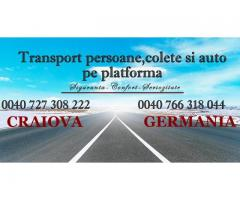 Transport persoane si colete Germania Danemarca