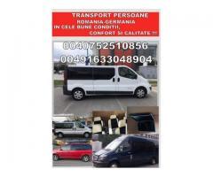 Transport persoane si pachete international
