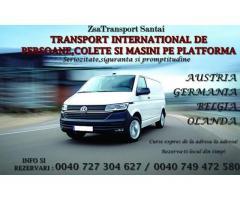 Transport persoane si colete ZSA