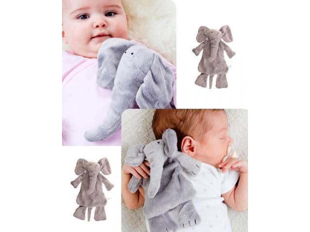 Set cadou bebelusi: jucarie plus+suzeta+cutie protectie