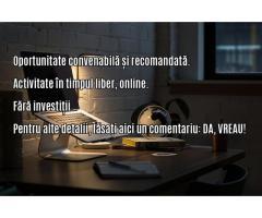 Cautam colaborator online