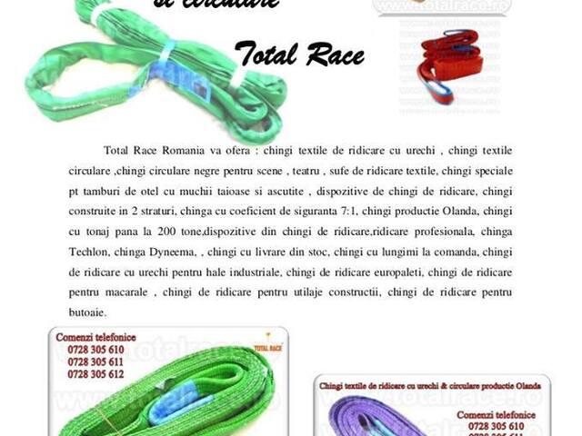 Sufe textile, sufe de ridicare, franghii circulare, chingi circulare