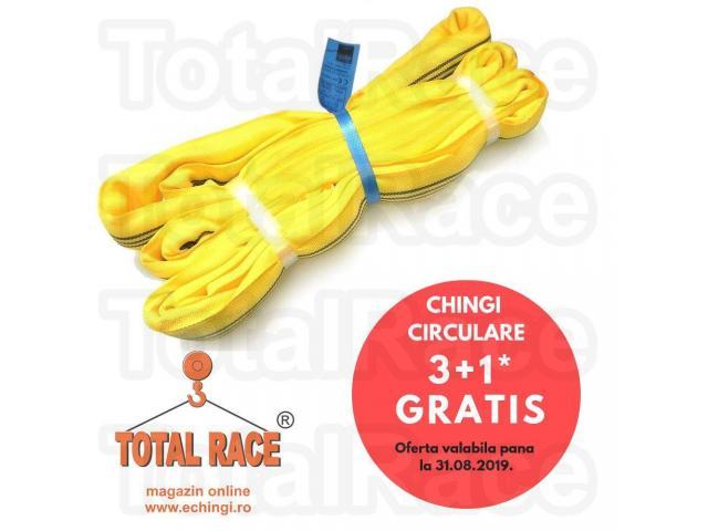 Super oferta verii: chingi textile circulare 3+1 gratis