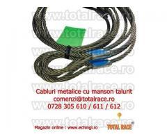 Cabluri legare cu capete mansonate