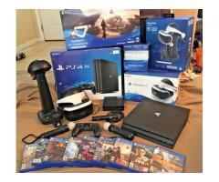 Sony PS4 1TB Pro Consola cu 8 jocuri €150 vânzări bonus