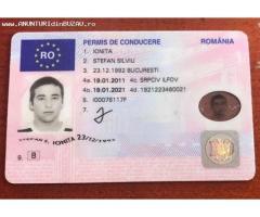 Cumpărați permisul de conducere UE, română, Whatsapp: +27603753451