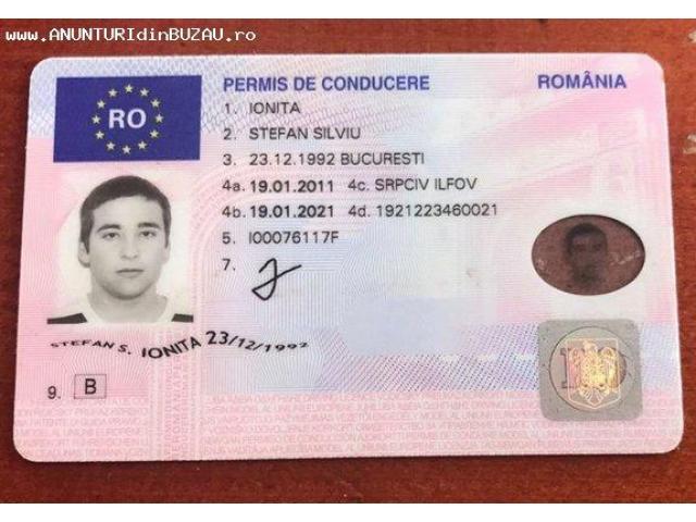 permis de conducere sua in romania