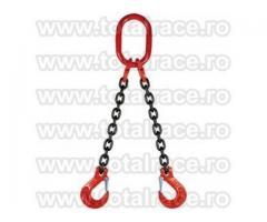 Dispozitive ridicare lanturi 2 brate cu carlige cu prindere direct pe lant si siguranta