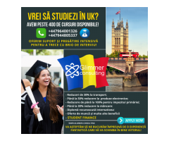 VREI SA STUDIEZI IN UK?