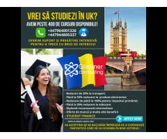 VREI SA STUDIEZI IN UK?