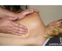 Maseur, ofer servicii de masaj!