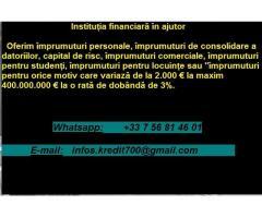 împrumuturi urgente în numerar ! ! !